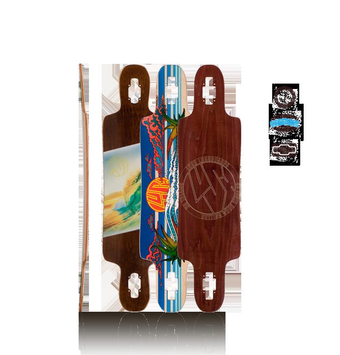 Lush Longboards Freebyrd