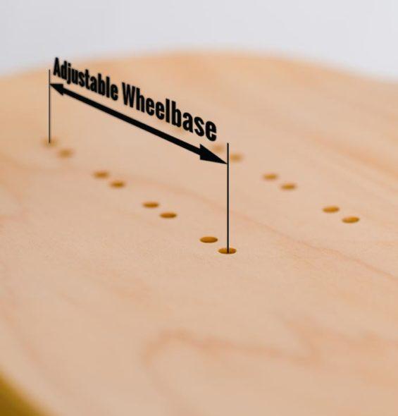 Longboard Wheelbase