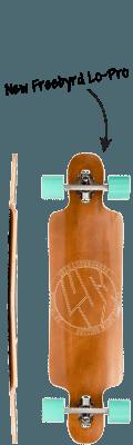 Lush Longboards Freebyrd Lo-Pro Complete Longboard