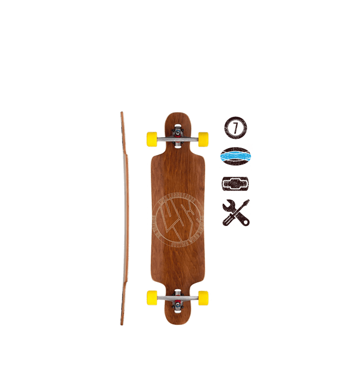 Lush Longboards Freebyrd