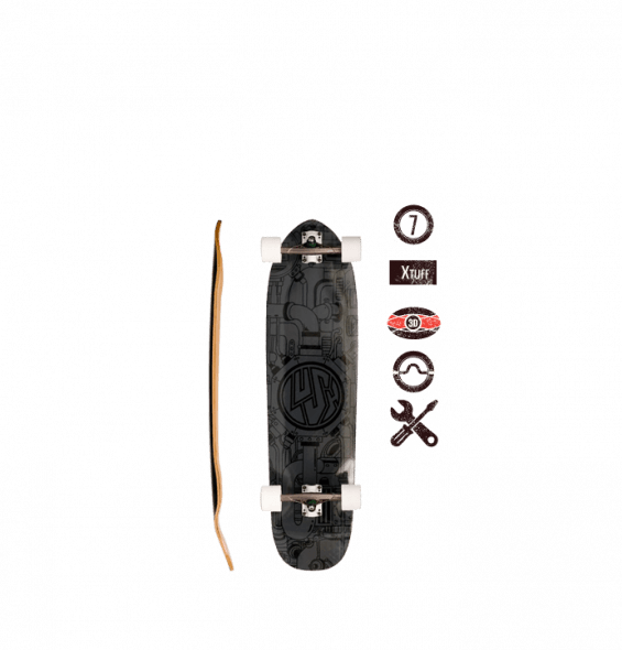 Lush Longboards Mahcine 3D