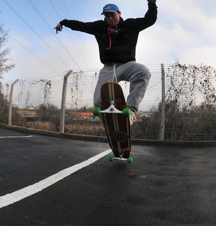 Longboard Dancing Freestyle