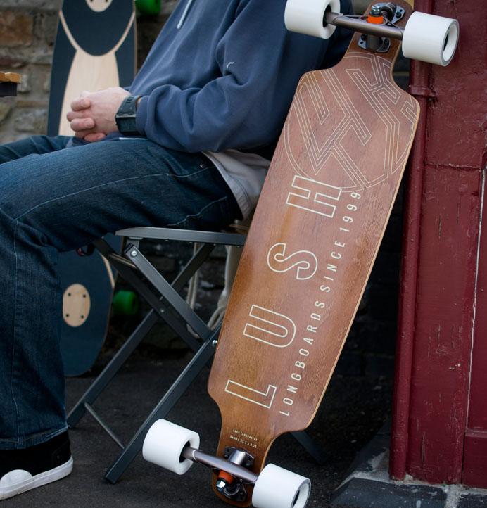 Carving Longboard Lush Samba