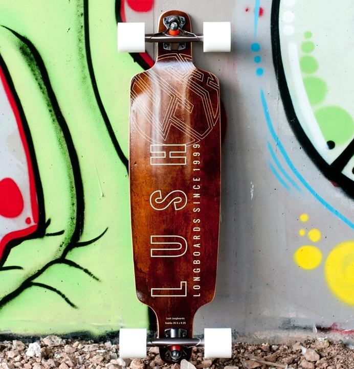 Lush Samba Carving Longboard