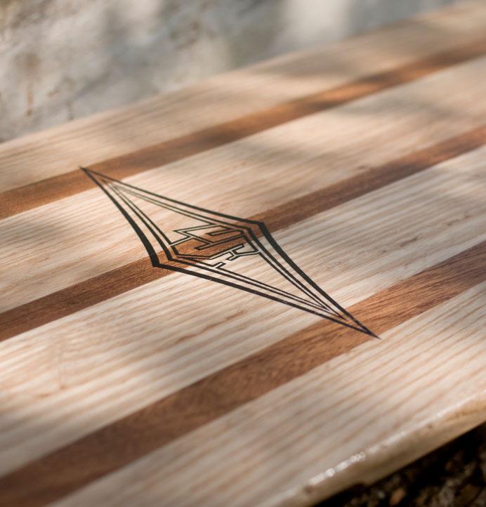 Hardwood Longboard Lush
