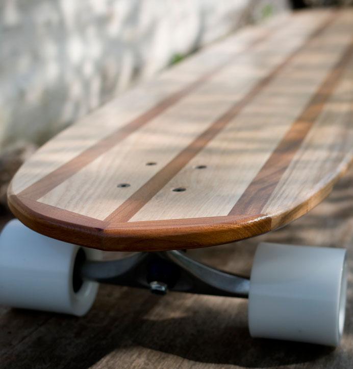 Hardwood Longboard