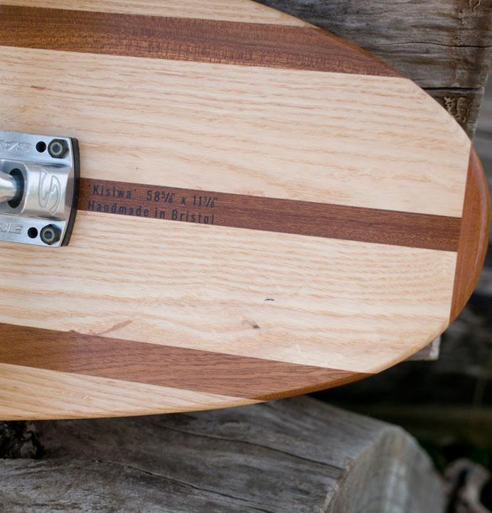Kisiwa Hardwood Longboard