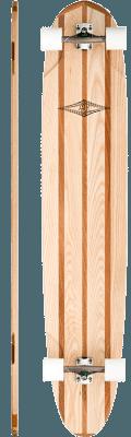 Lush Longboards Kisiwa Complete Longboard