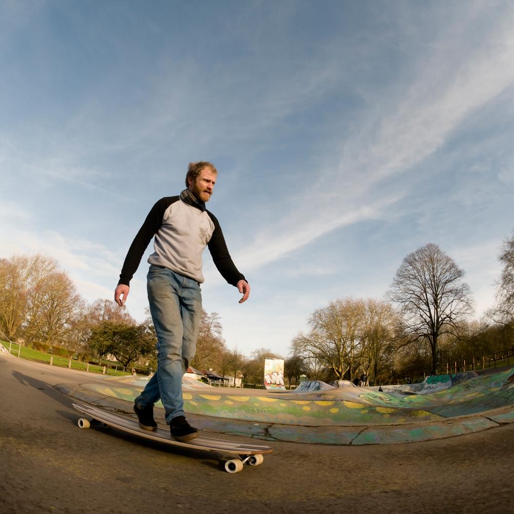Longboard Boardwalking
