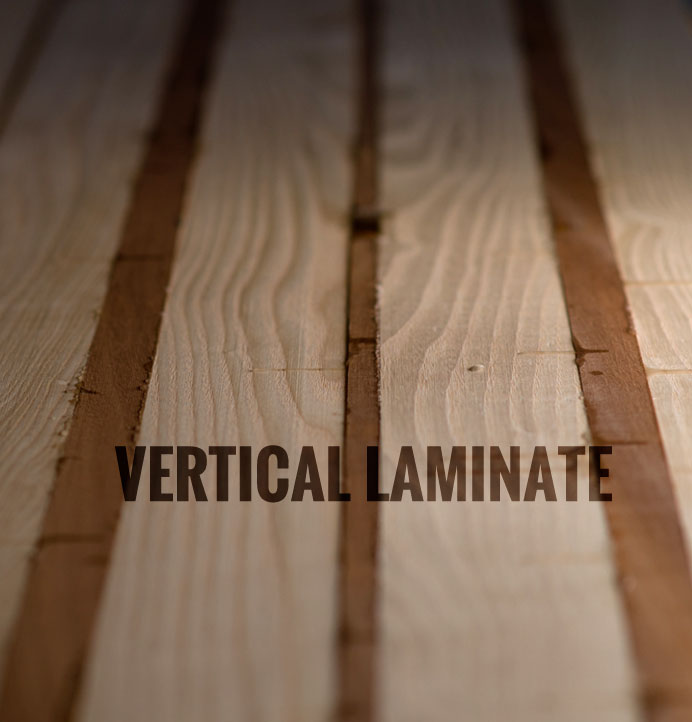 Vertically Laminated Longboard