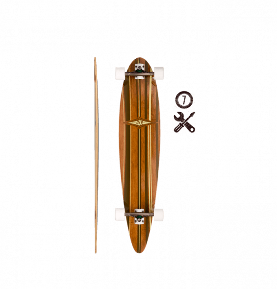 Lush Longboards Mako Pintail