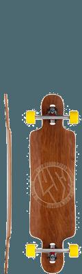 Lush Longboards Freebyrd Complete Longboard