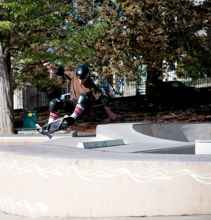 Lush Longboards Dagyr Skatepark