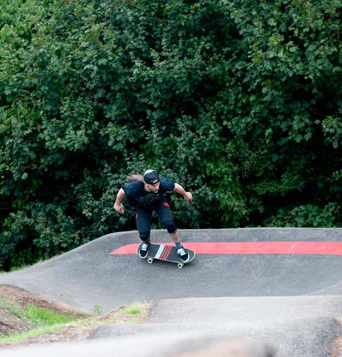 Hillfields Pump Track Bristol